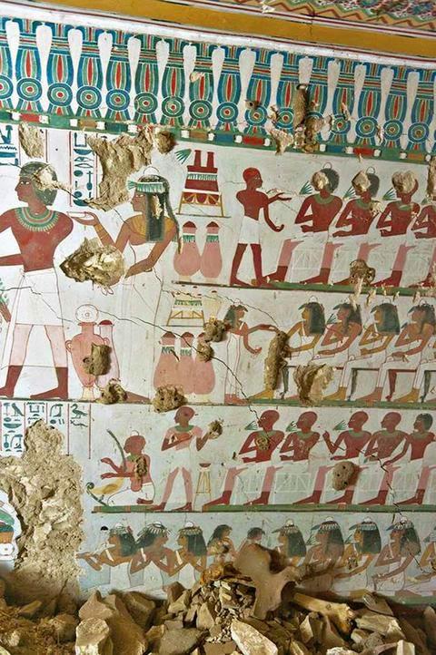 Οι τοιχογραφίες «μιλούν» για τον φύλακα του ναού