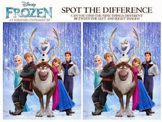 Image: Walt Disney - FREE Activity Sheets for Disney's Frozen Movie