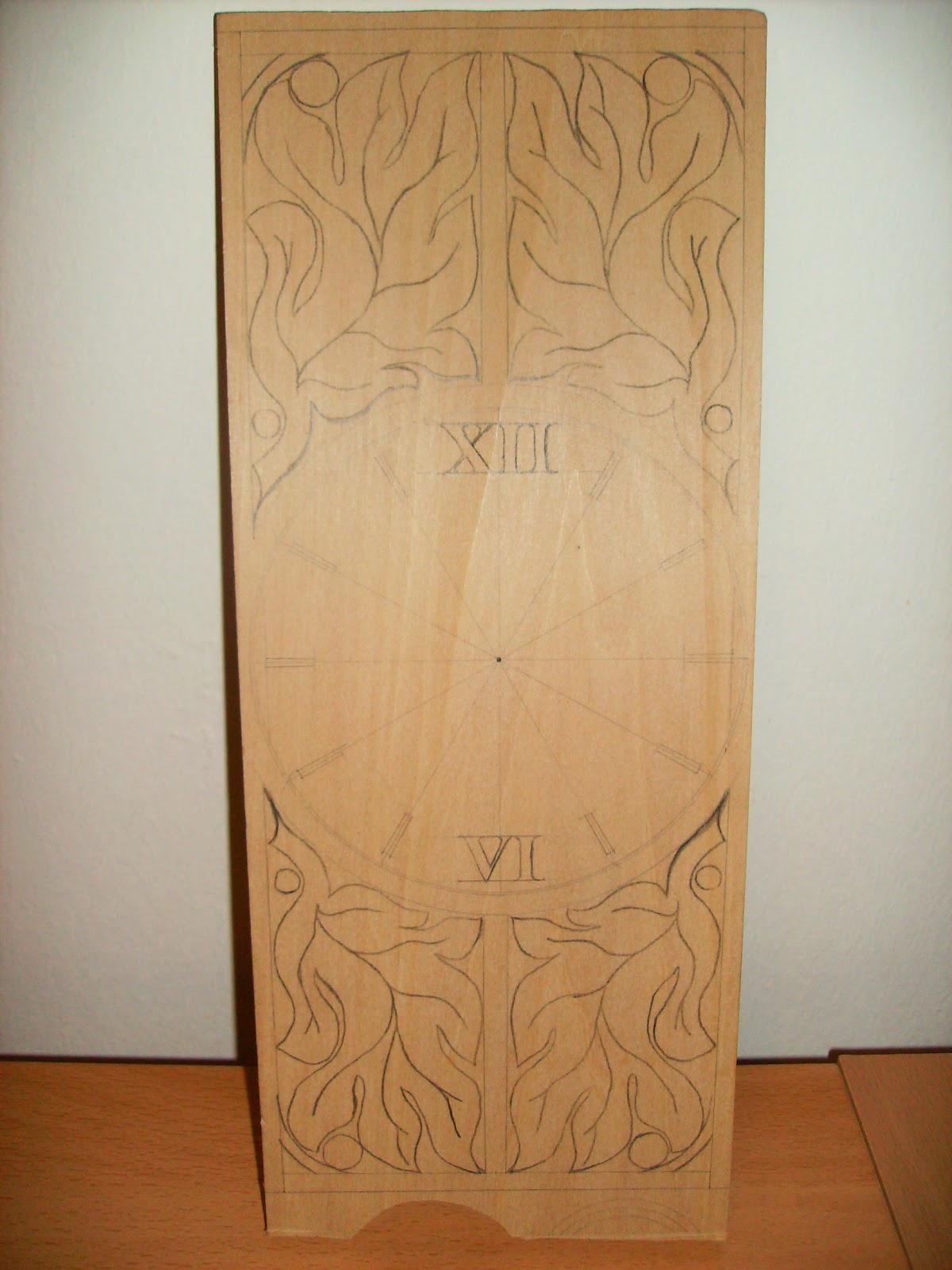Idee dal legno nuovo progetto orologio da parete con for Idee per orologio da parete