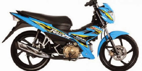 Suzuki Luncurkan Baby Satria FU Yakni Raider