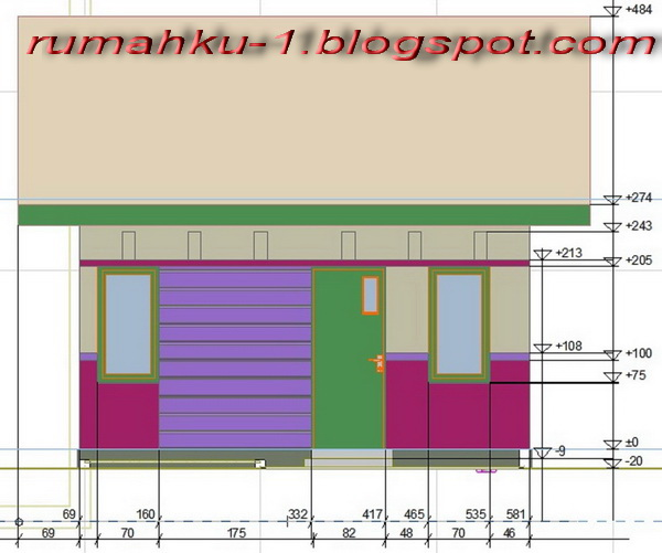 Contoh Denah Rumah Minimalis Type 22 60 Gambar Denah Rumah Type 22
