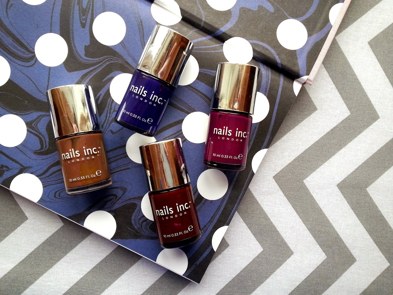 Nails Inc Autumn Winter 2013 Collection Swatches and Review