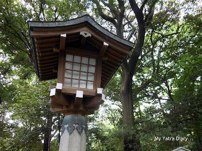 Forested area at the Meiji Jingu Shrine, Tokyo