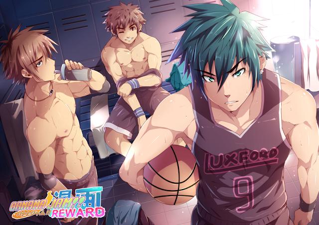 Black Monkey, yaoi, Muscle, Basketball, 3P, Banana Jam, Reward,