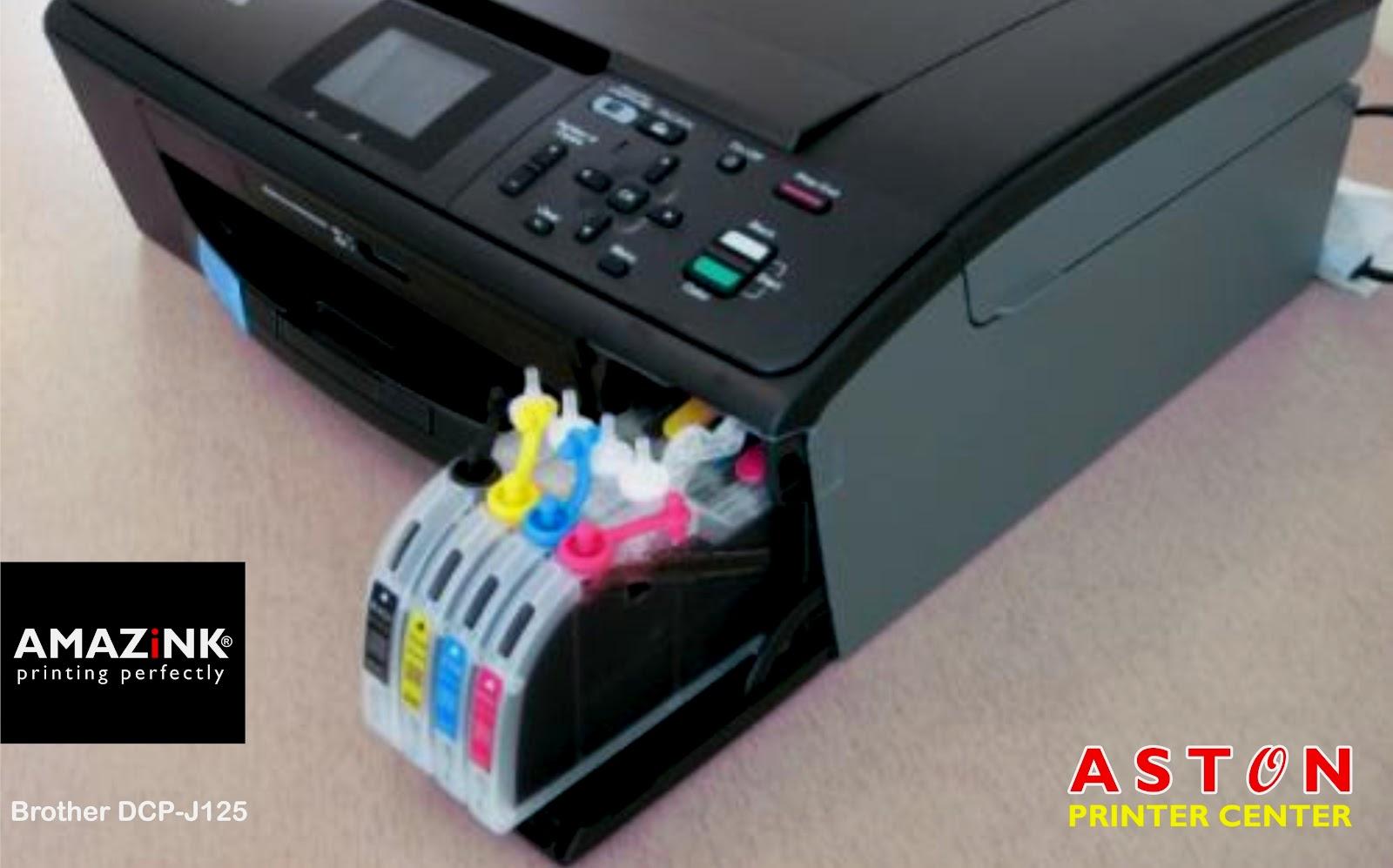 Infus Tinta Printer Brother DCP J125