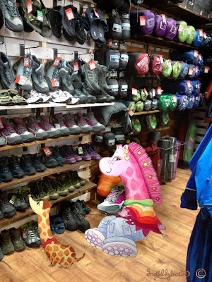Necky Becky at Mountain Warehouse Clacton Factory Outlet - Stand Tall - Ingrid Sylvestre