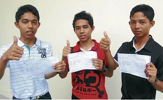 'Tiga Abdul' cemerlang SPM 2011