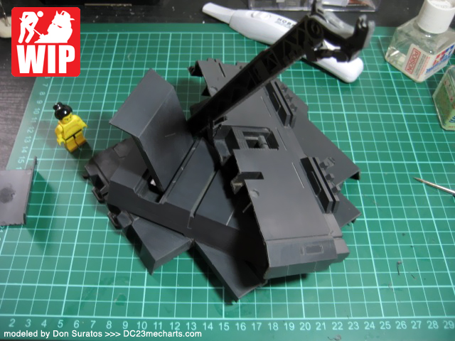1 hour custom diorama for your Gundam model kits photo