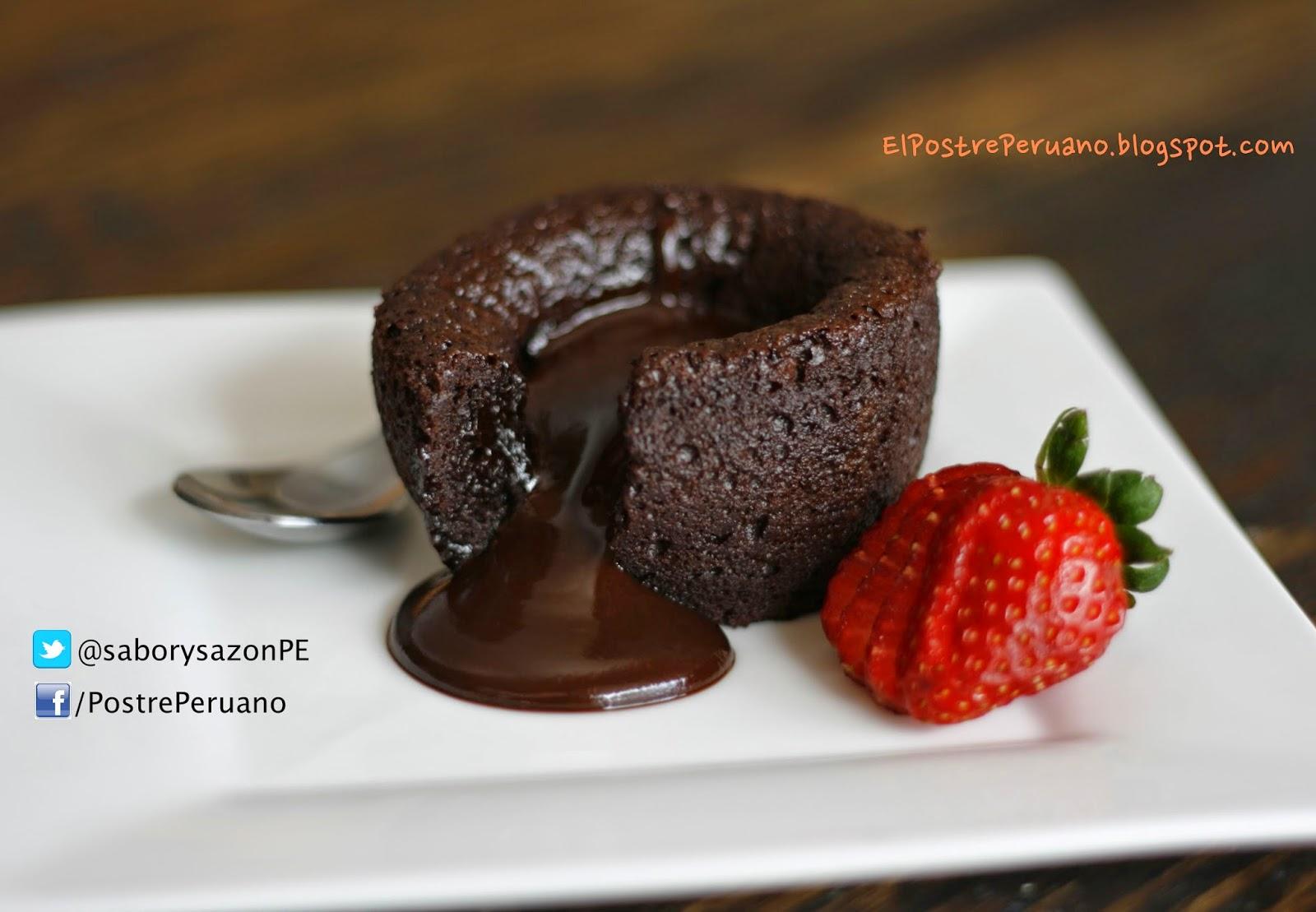 RECETA SENCILLA - SOUFFLE DE CHOCOLATE - Postres con #chocolate - REPOSTERIA PARA LOS ADICTOS AL CHOCOLATE