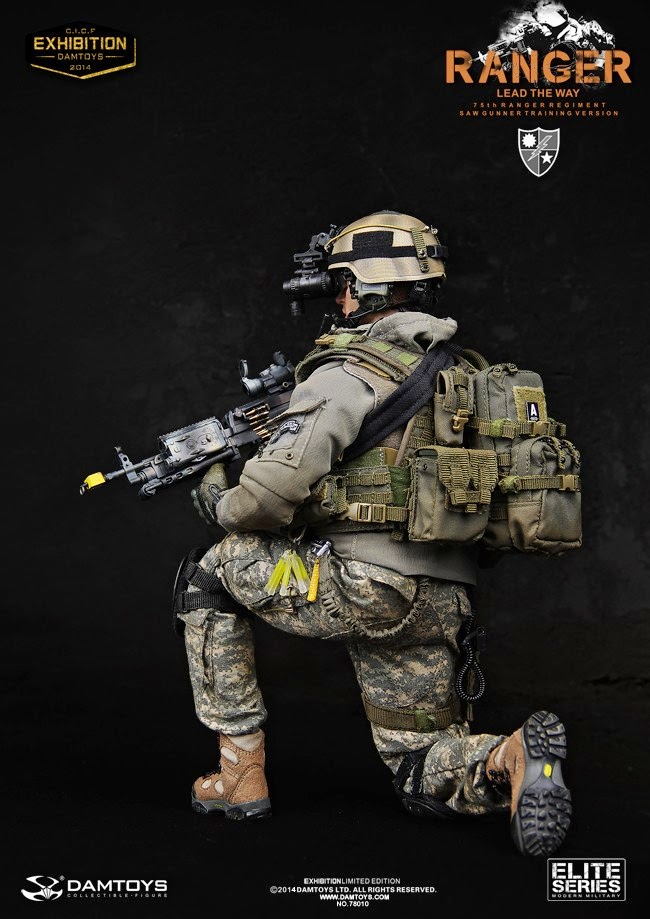 onesixthscalepictures dam toys 75th ranger regiment saw
