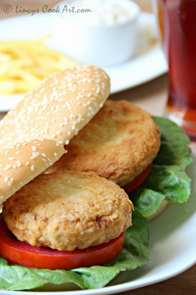 Chicken burger recipe