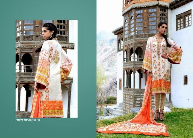 WardaSaleemLawn2014ByShariqTextile wwwfashionhuntworldblogspot 12  - Warda Saleem Lawn Collection 2014 By Shariq Textile