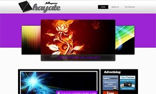 Hayate WordPress Theme