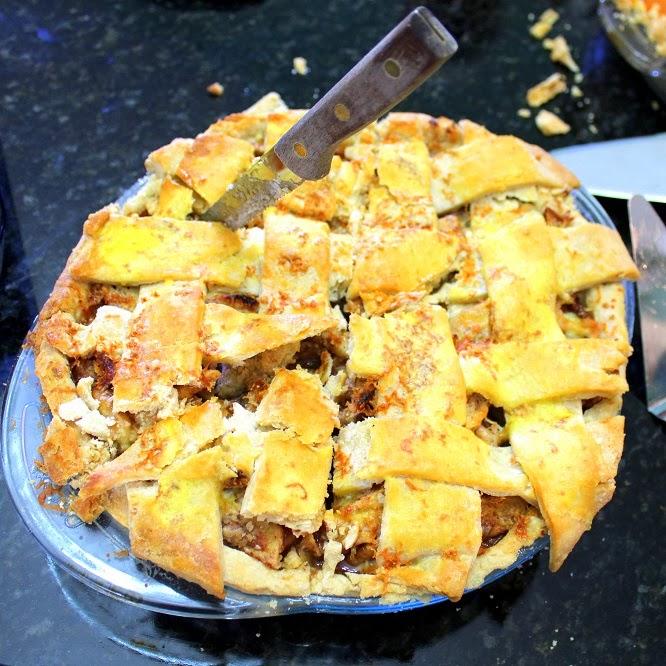 52 Ways to Cook: Apple Cheddar Pie - Feeding Larry Pt 14 - Church ...