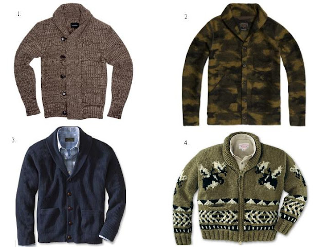 4 Shawl Collar Cardigans For The Fall