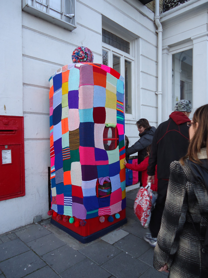 Ivy Arch: Guerilla knitting on the streets of Worthing