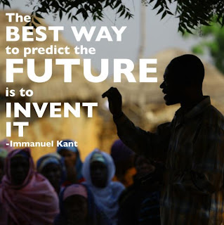 The best way to predict the future is to invent it - Immanuel Kant