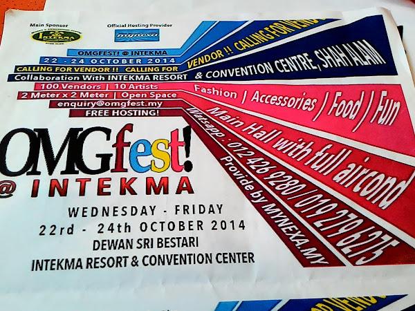 OmgFest 2014 : Berniaga Sambil Menderma