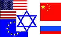 Estratégia sionista: Estados Unidos e Europa querem conter a expansão da China, Rússia e Irã através da Síria