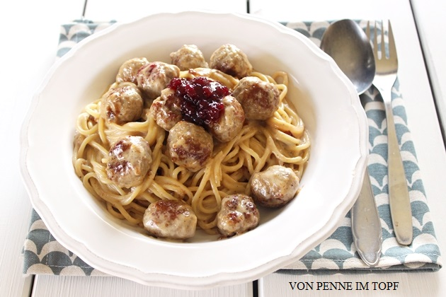 Spaghetti Köttbullar-Style