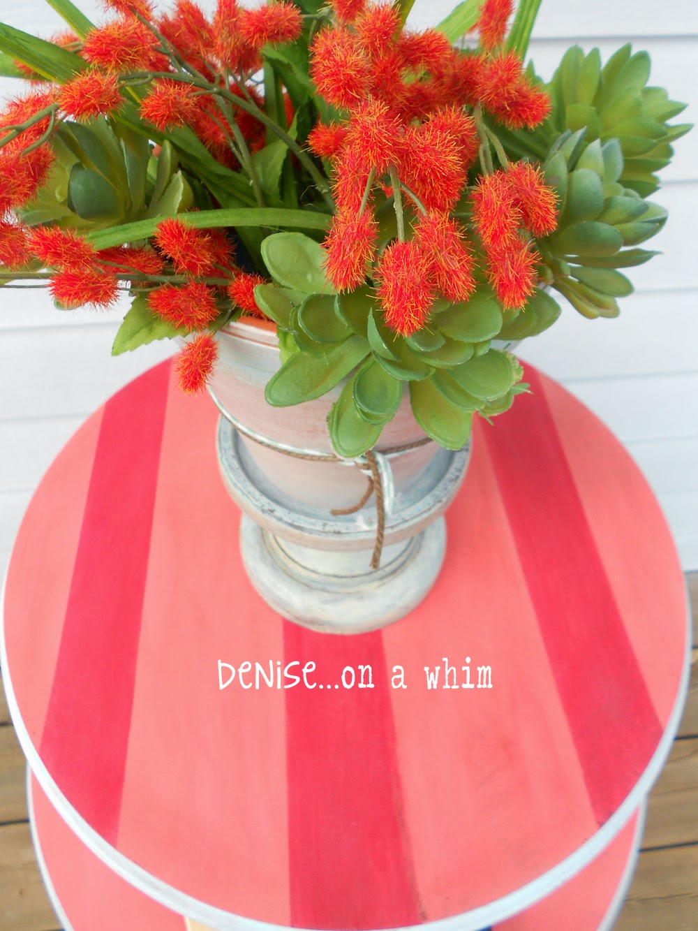 Whimsical Table Makeover from Denise on a Whim