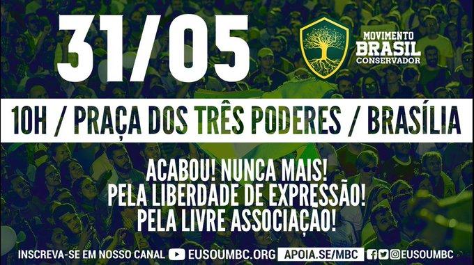 31 de maio: Brasília