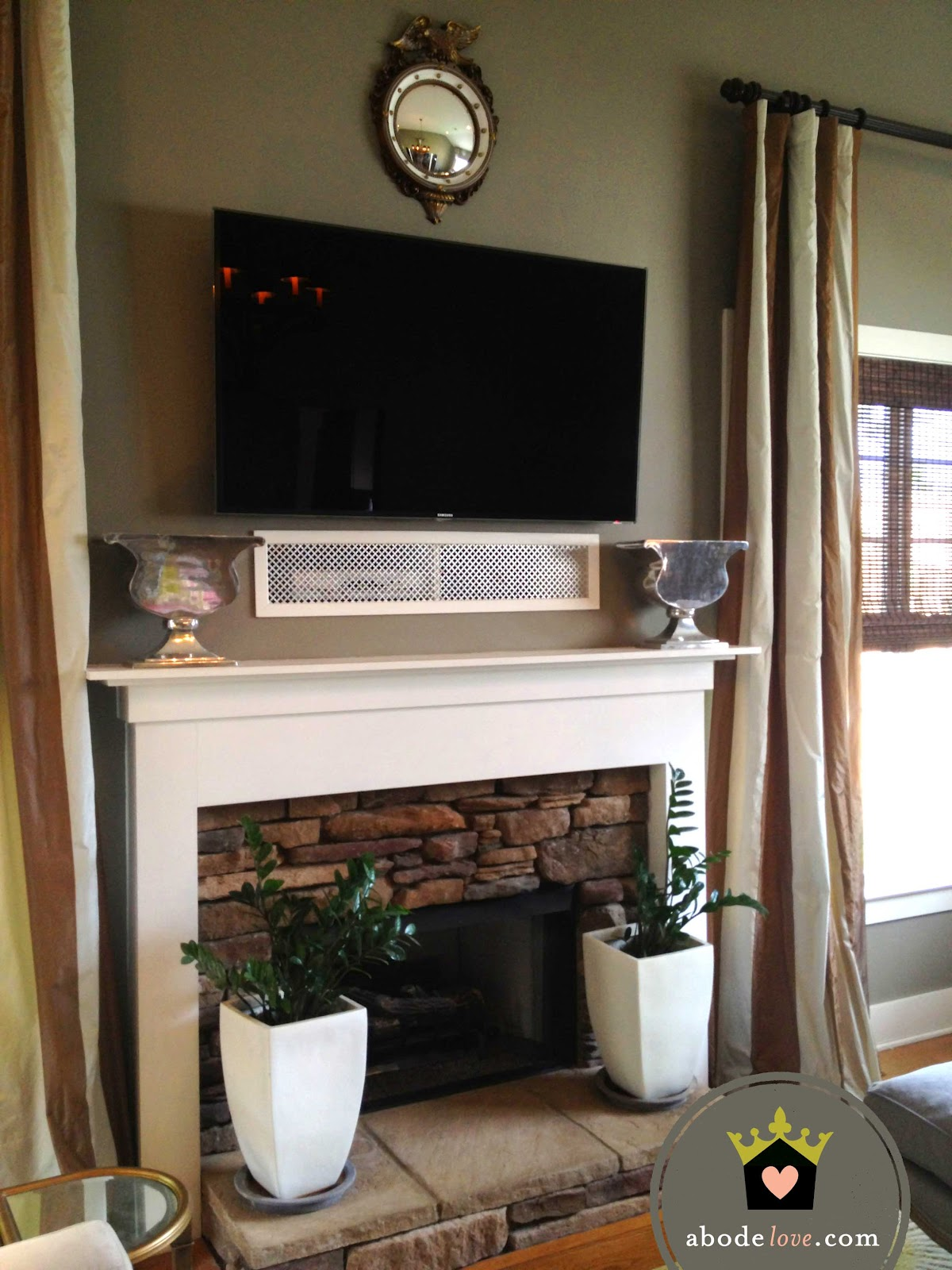 how to hide wires for wall mounted tv over fireplace fujise us