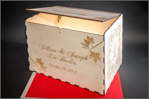 Wedding Card Boxes – Fall Wedding Card Boxes