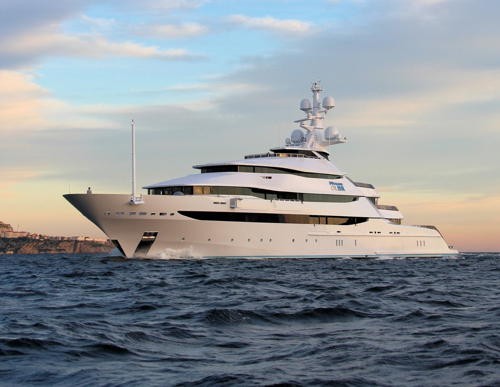 Superyacht ST. PRINCESS OLGA