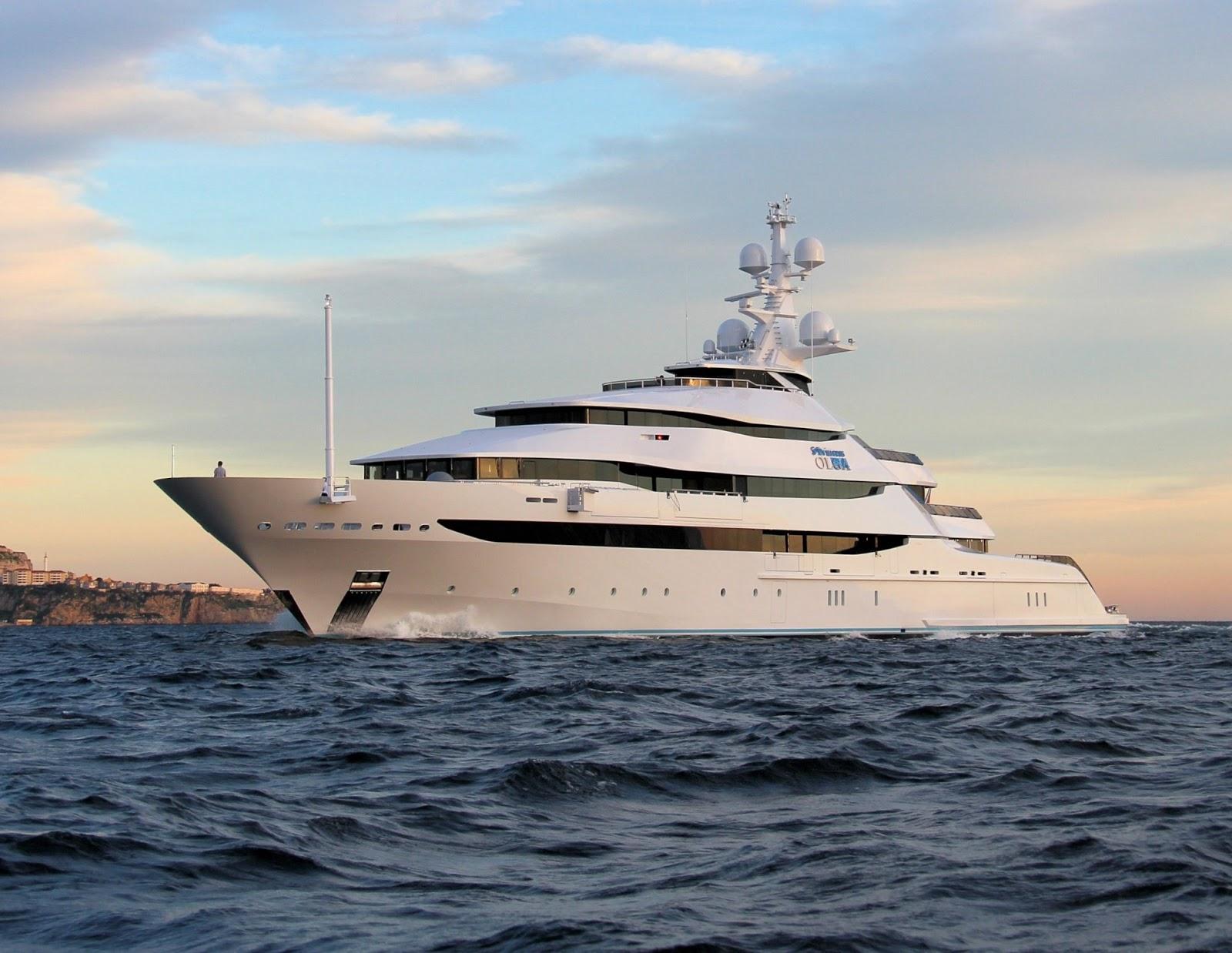 Superyacht ST. PRINCESS OLGA
