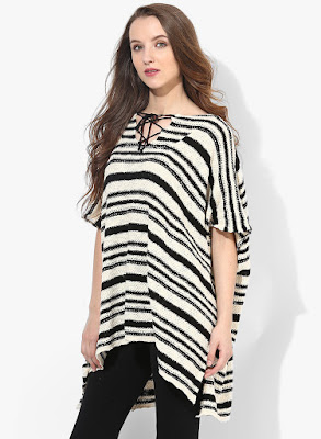 http://www.jabong.com/mango-Off-White-Striped-Blouse-1523906.html?pos=85