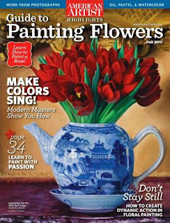 American Artist Highlights Guide to Painting Flowers