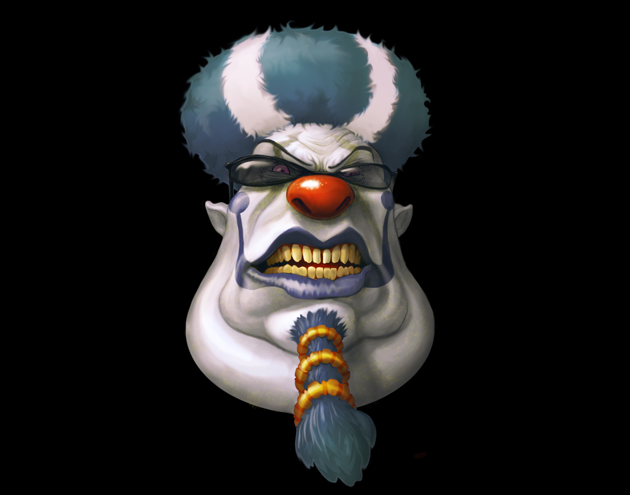 evil clown wallpaper submited images