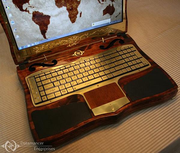 Datamancer Steampunk Laptop new