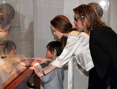 Angelina Jolie Brad Pitt's Engagement