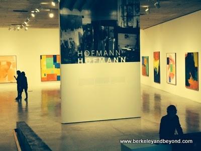 """Hofmann by Hofmann"" show at Berkeley Art Museum in Berkeley, California"