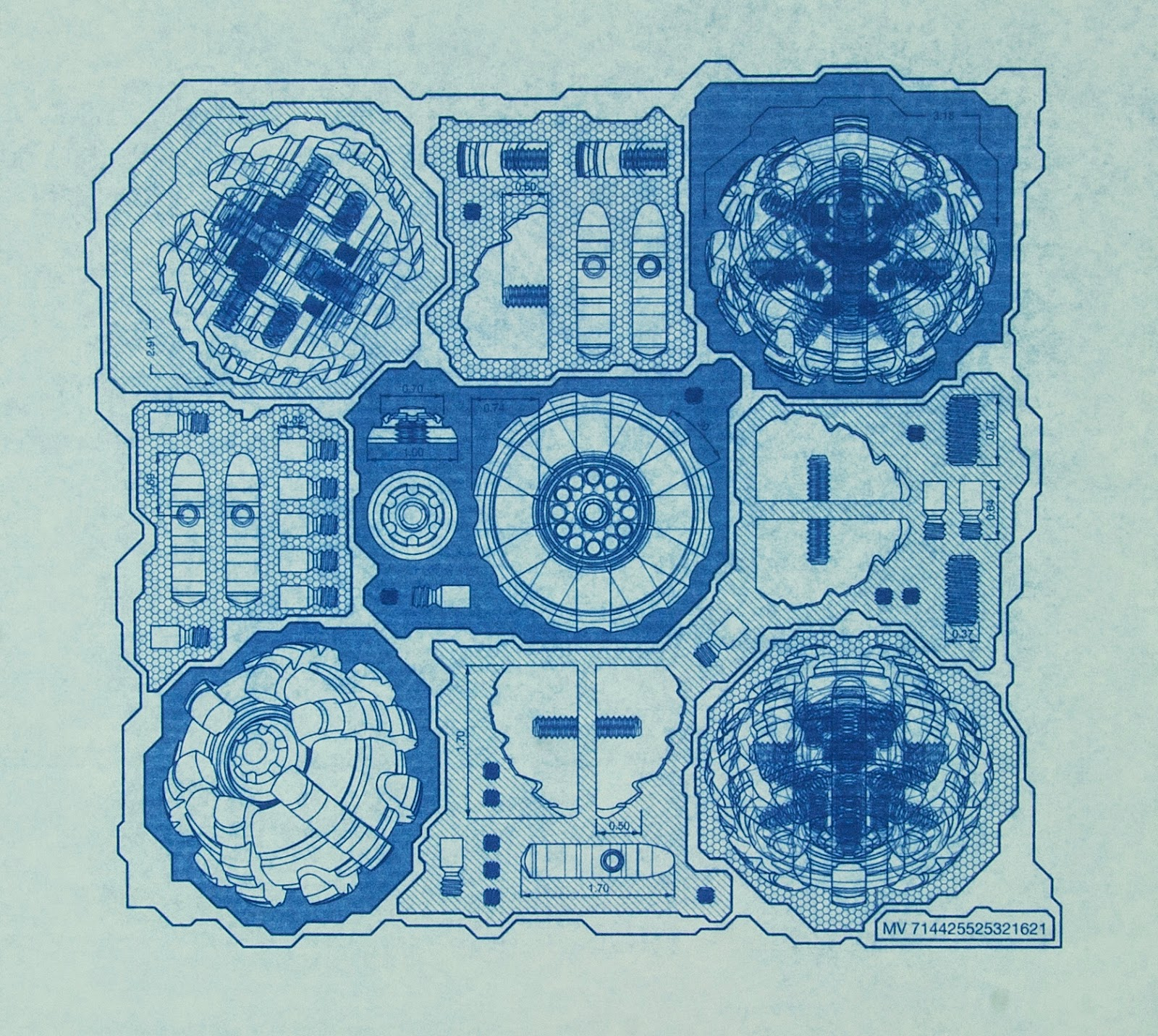 Machine Art, Schematic, Art Blueprint