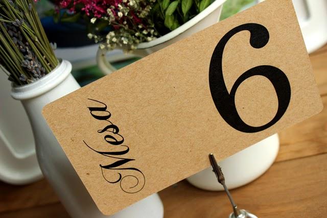 detalles de boda meseros kraft craft hermanas bolena shop