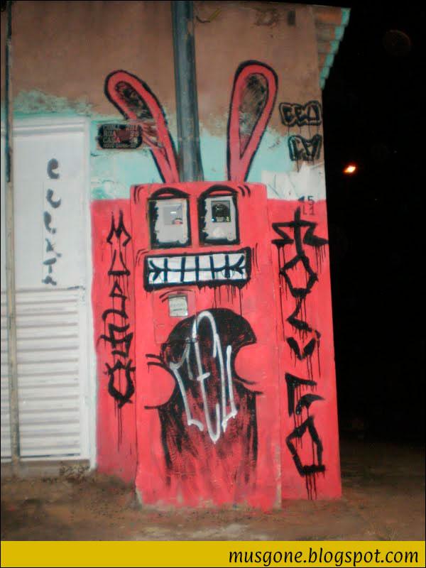 graffiti coelho