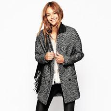 Daily stylish fashion - grey coat