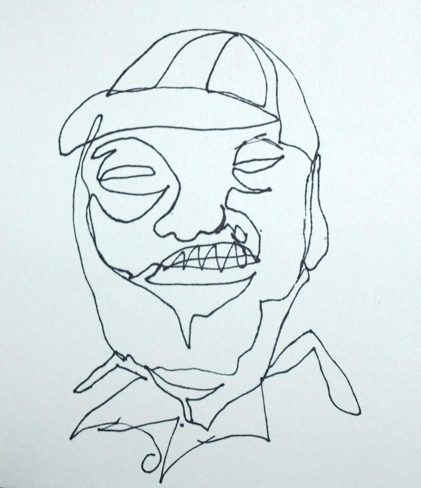 Famous Contour Line Drawing Artists : Pix for gt famous contour line drawings