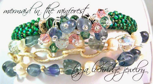 Fluorite Gemstone & Pearl Bracelet Plays with Fluorite Stackable Bangle