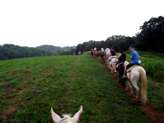 Horseback Riding in the Smoky Mountains