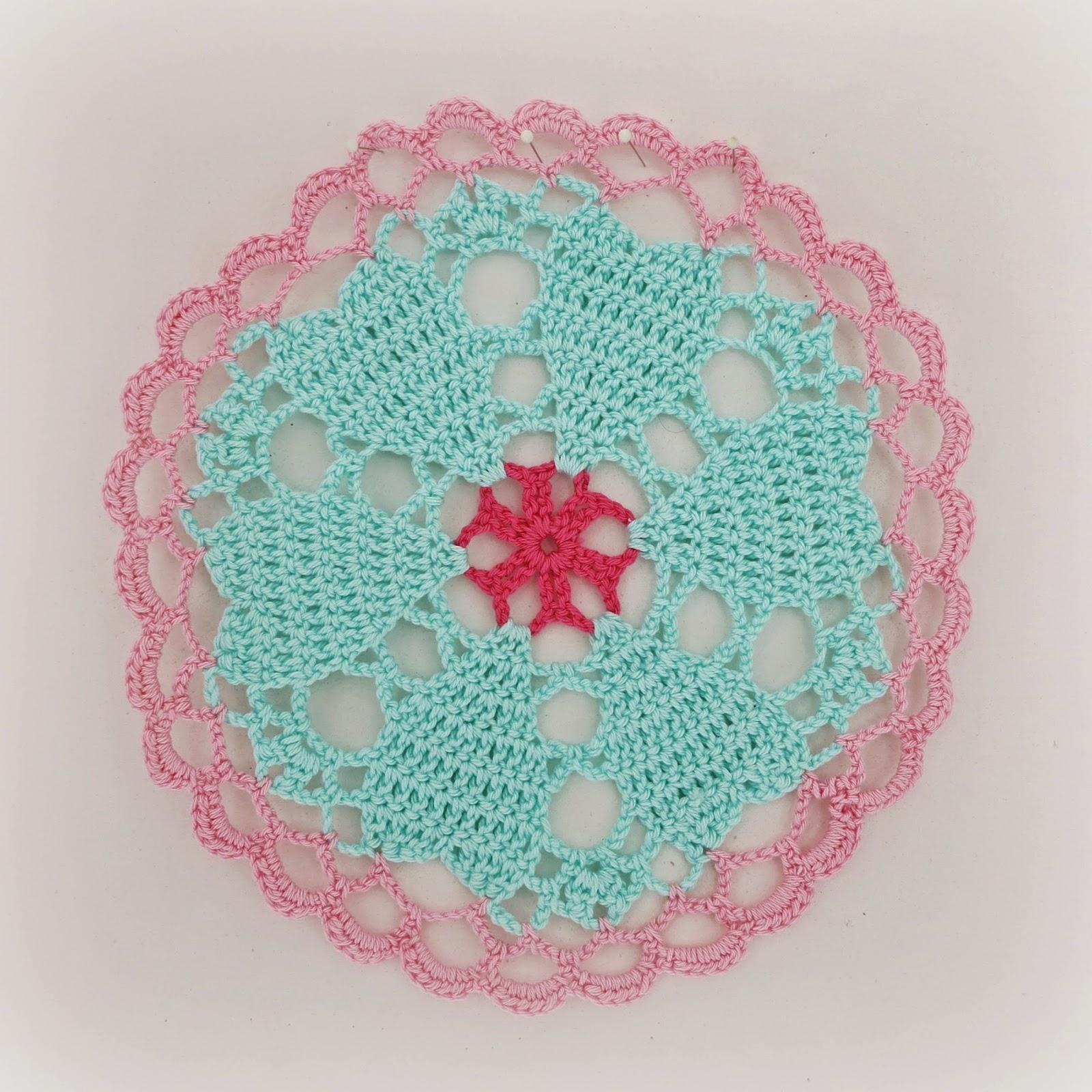 ByHaafner, crochet, doily, pastel, Japanese crochet