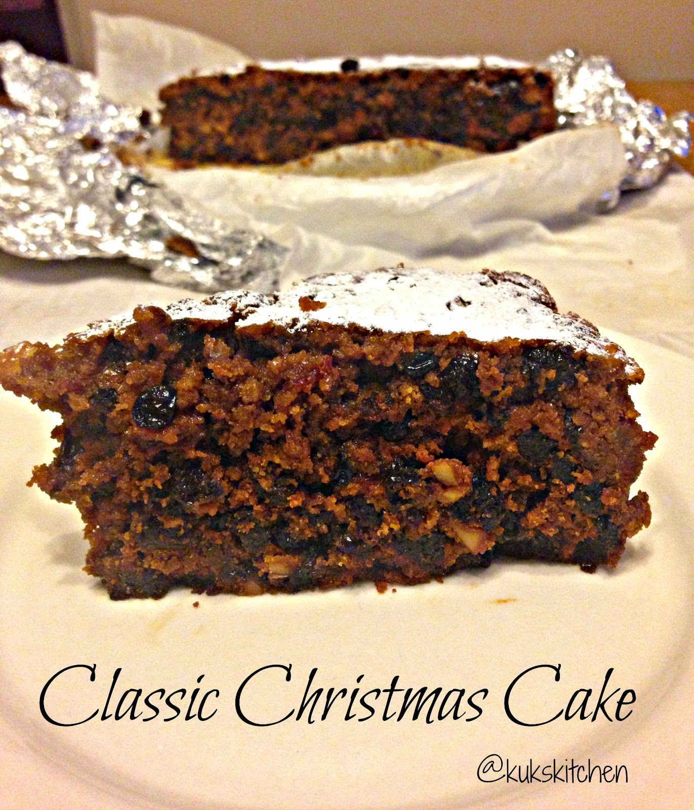 lassic Christmas cake  |  Delia Smith' sChristmas cake  |  Kukskitchen