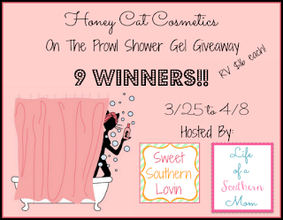 http://lovinjosiah87.blogspot.com/2014/03/honey-cat-cosmetics-giveaway-ends-418.html