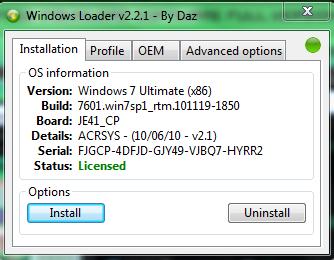windows 10 windows loader daz
