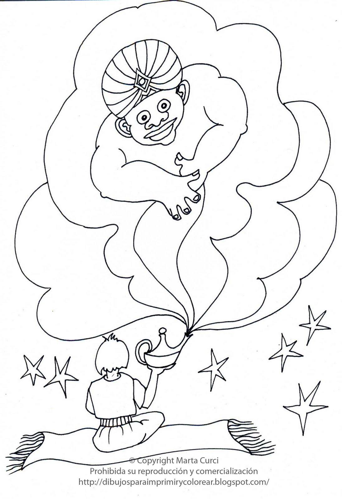 Dibujos para imprimir y colorear gratis para niños: Dibujo de la ...