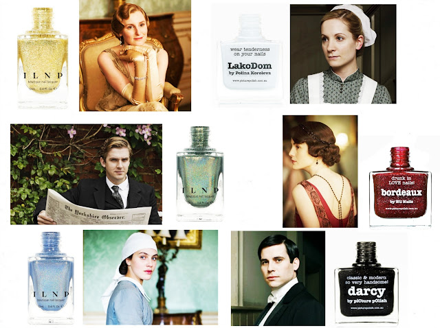 Downton Abbey nail polish