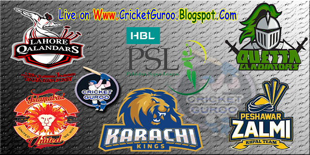 Pakistan Super League (PSL 2016) Schedule